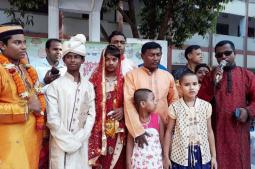সাতক্ষীরায় বর্ষবরণ: সরকারী স্কুল