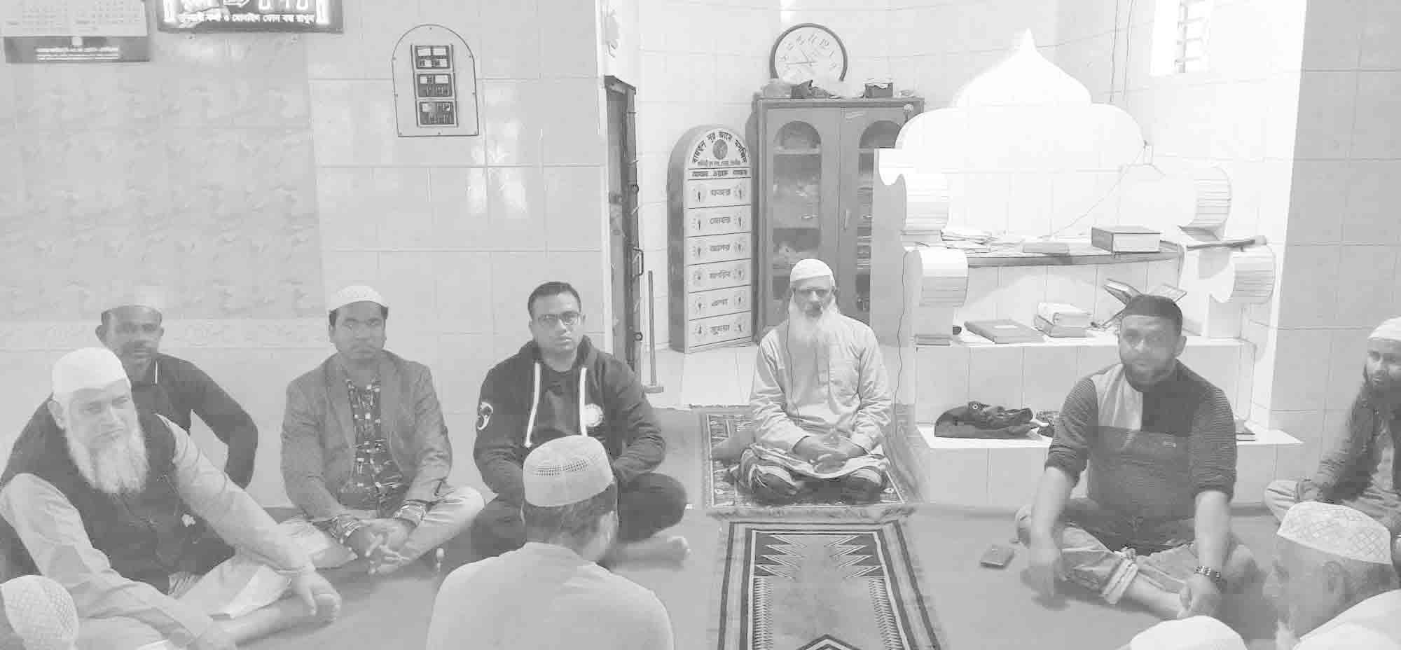 জেলা আওয়ামীলীগ সভাপতির রোগমুক্তি কামনায় দোয়া